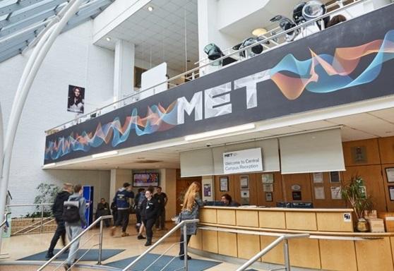 Reception at Greater Brighton Metropolitan College Central Campus