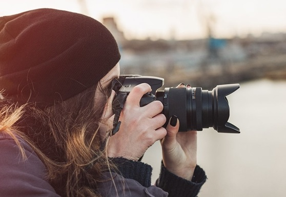 Photography student at Greater Brighton Metropolitan College