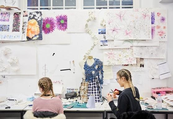 Art students at Greater Brighton Metropolitan College