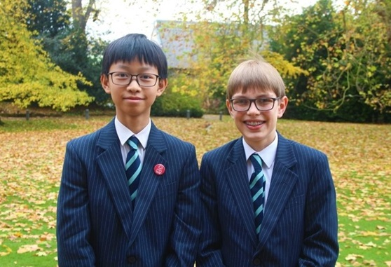 Maths challenge students at King's Ely