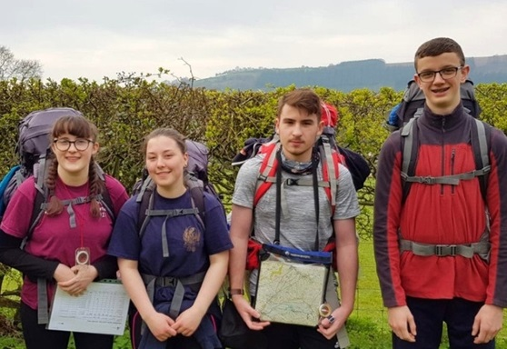 Worthing College students on Duke of Edinburgh Award Scheme expedition