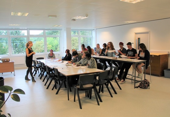 Classroom at Worthing College