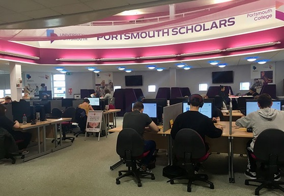 Educatius-UK-PortsmouthCollege-ComputerClassroom-Gallery-2019