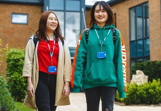 International students at Collyer's