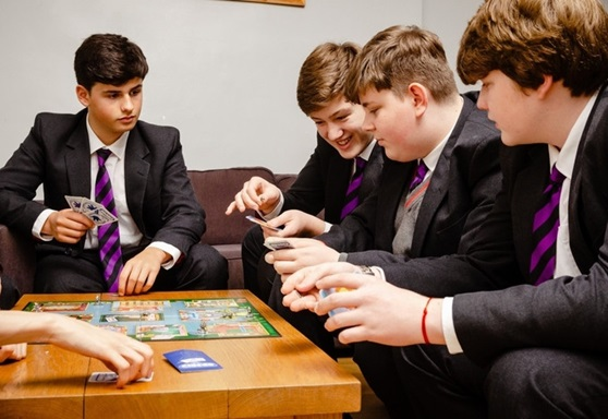 Boys common room at Dover College