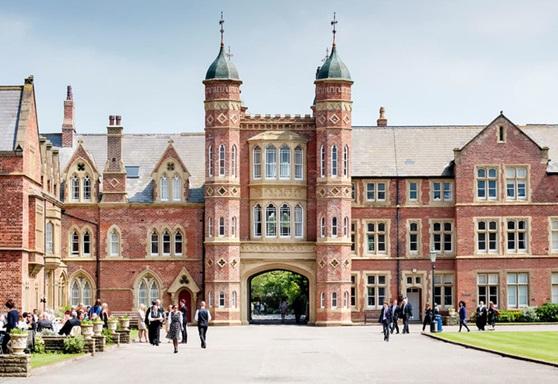 Rossall School building
