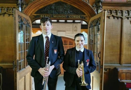 Music students at Birkenhead School
