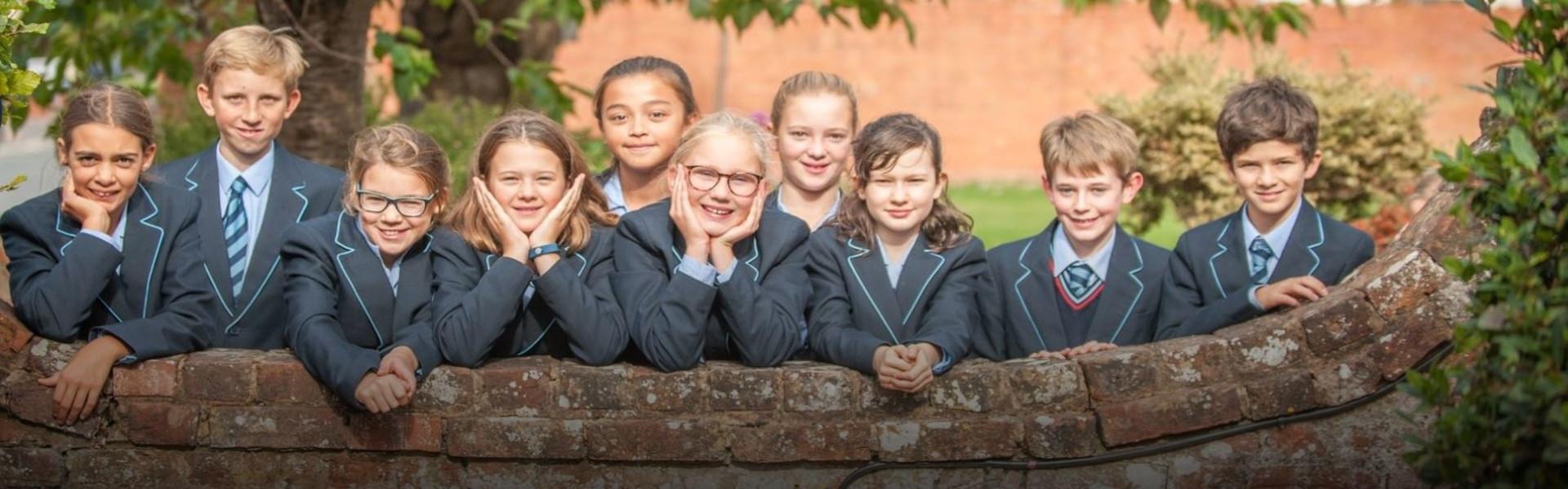 Students at Wellington School