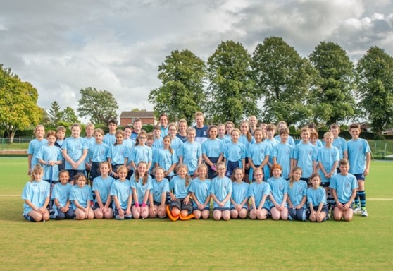 Sports students at Wellington School