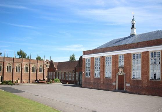 Exterior of Wellington School