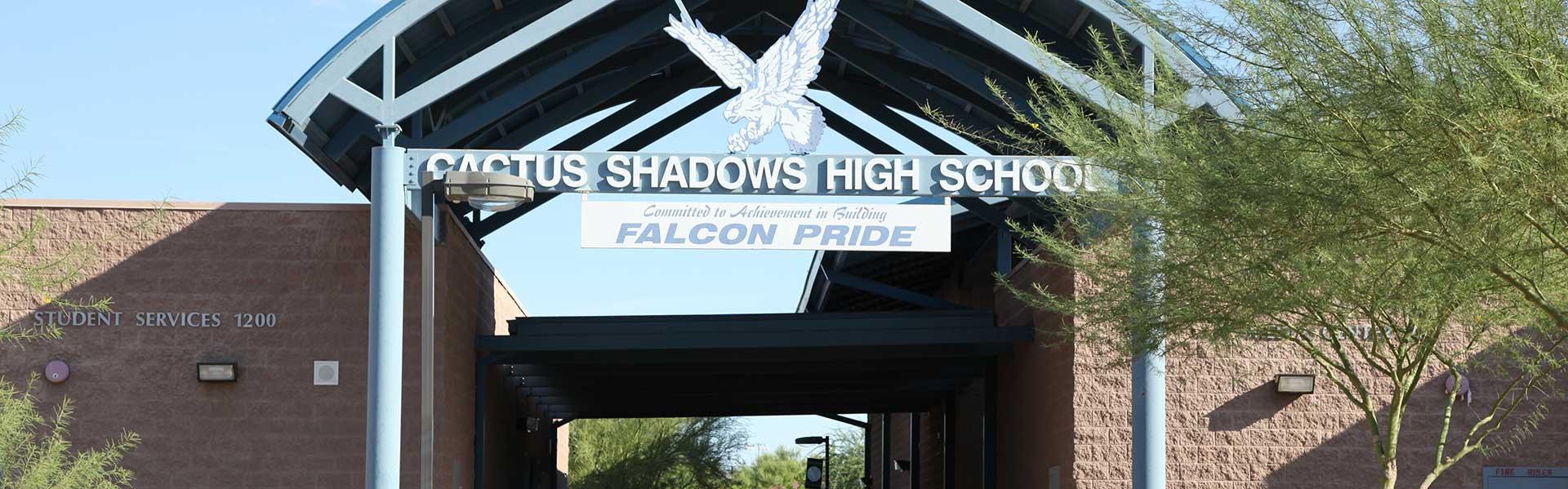 CaveCreekUnified-Public-Arizona-USA-School-Entrance