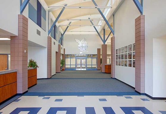 CaveCreekUnified-Public-Arizona-USA-School-Hallway