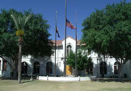 Gilbert Public Schools Arizona USA School Front