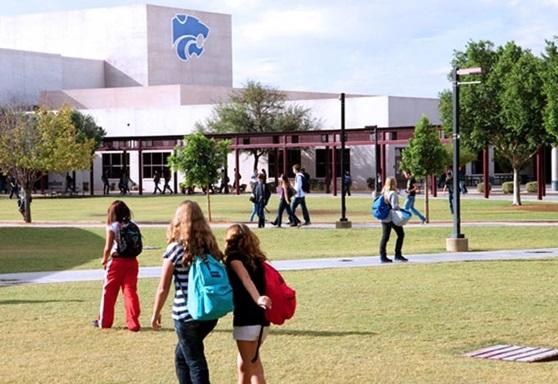 Gilbert Public Schools Arizona USA School Campus 2019