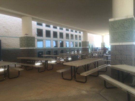 Hamilton High School Arizona USA Cafeteria