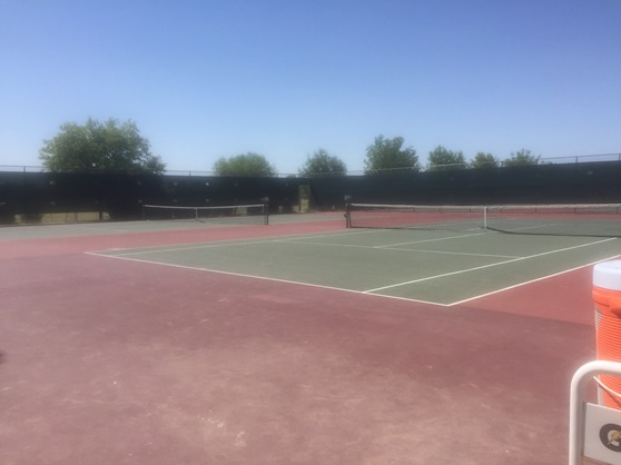 Hamilton High School Arizona USA Tenniscourt