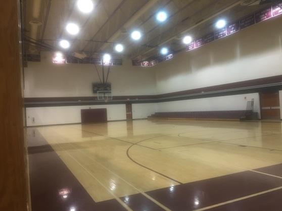 Hamilton High School Arizona USA Gym
