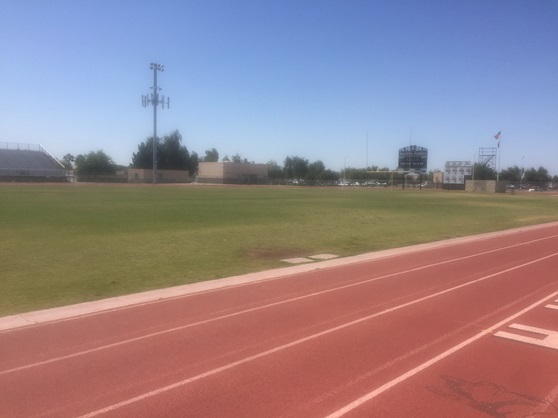 Hamilton High School Arizona USA Footballfield