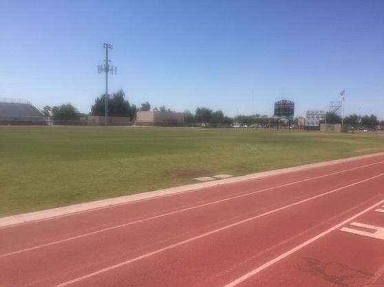 Hamilton High School Arizona USA Footballfield