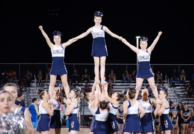 Higley Unified School District Arizona USA Cheerleading 2019