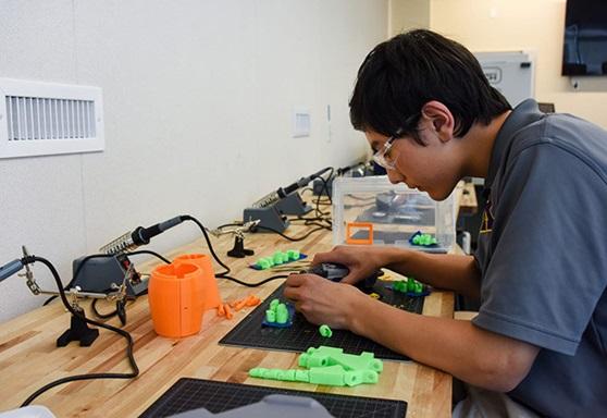 Student Robotics STEM Archbishop Riordan High School California
