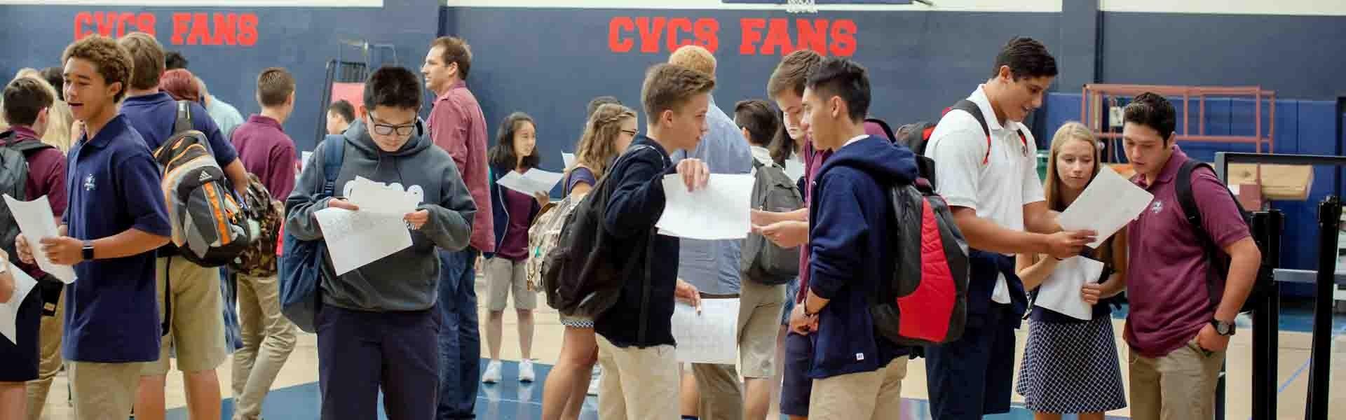 Capistrano California USA Students Banner 2019