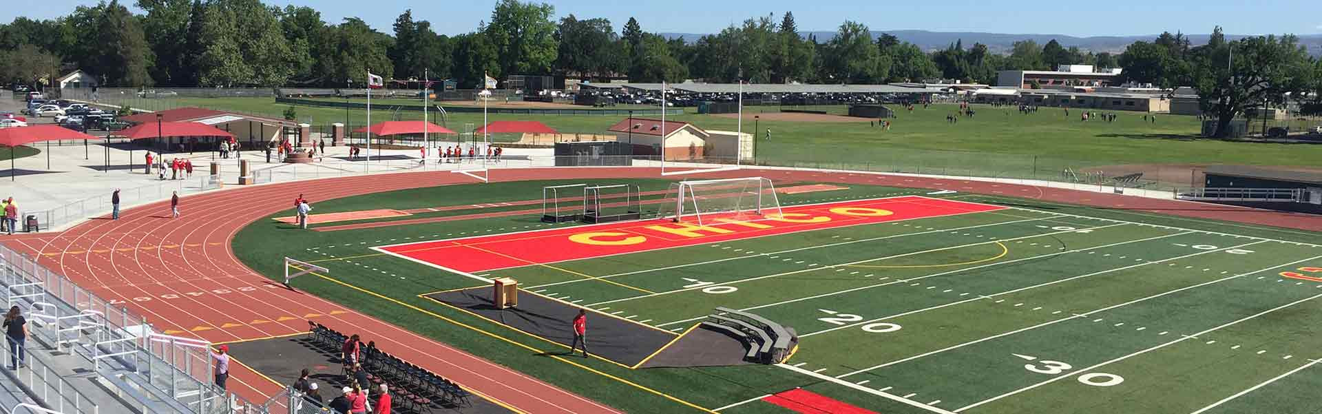 Chico Unified School District Sports Facility in California USA