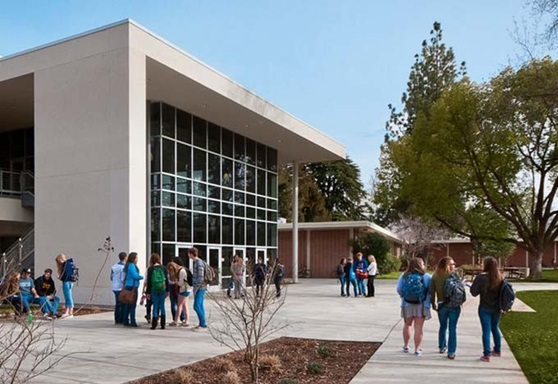 Chico Unified School District School Campus in California USA