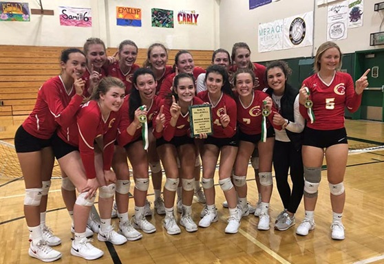 Chico Unified School District Volleyball Team in California USA