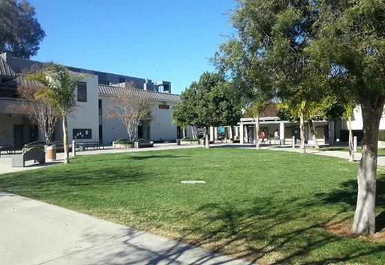 Outdoor school campus