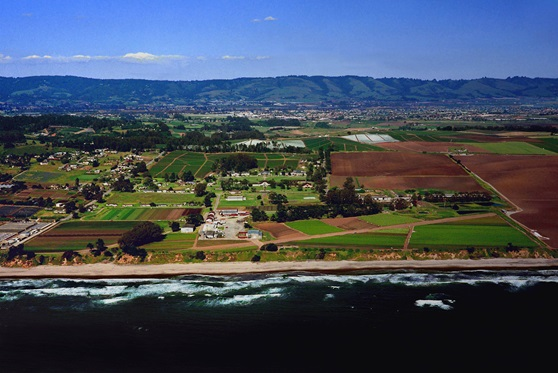 Monterey Bay Academy California USA View from above
