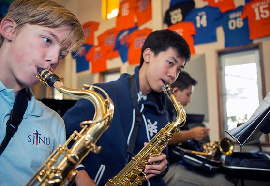 Saint-Joseph-Notre-Dame-High-School-Private-CA-Music-Class-Gallery-2020