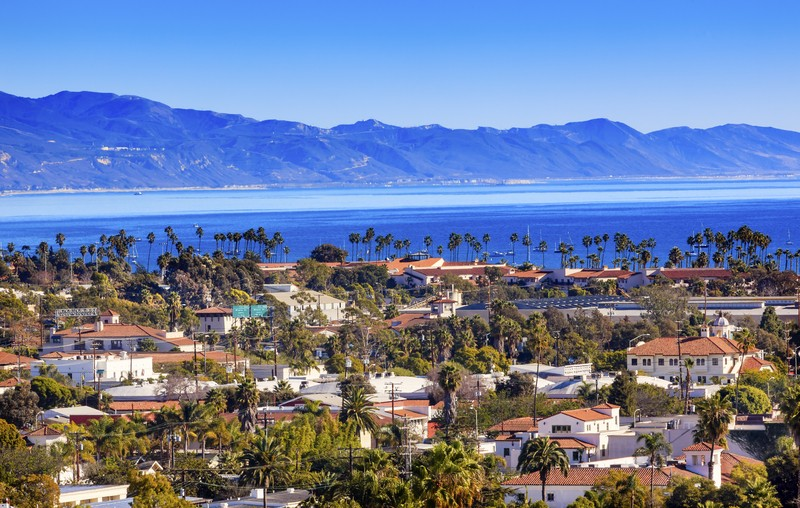 Santa Barbara School District California USA Cityview