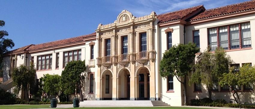 SantaBArbara-Highschool-CA-Group-School-Front