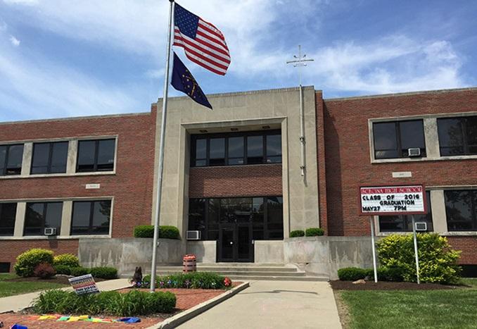 Campus picture of Scecina Memorial High School