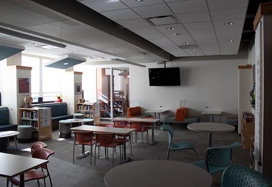 Scecina Memorial High School students' classroom