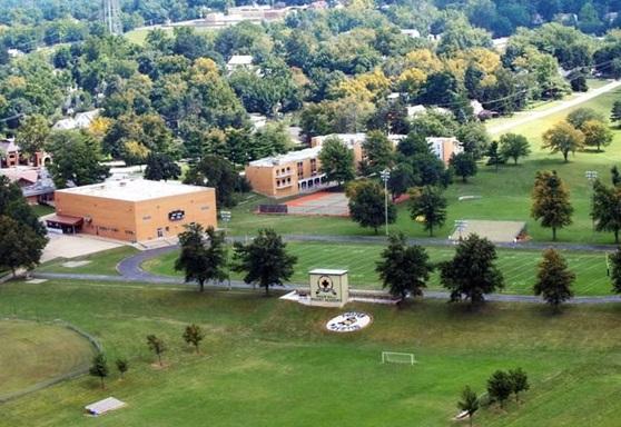 Maur Hill Academy  Kansas USA Aerial Gallery 2019