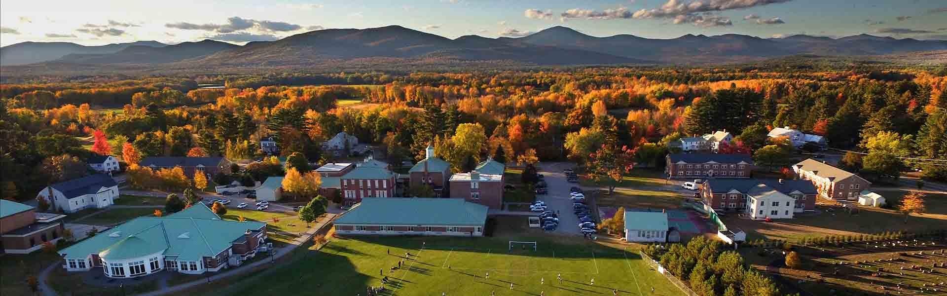 Fryeburg Academy Maine USA Landscape Banner 2019