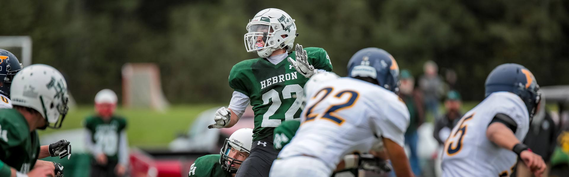 Football Team Hebron Academy Maine