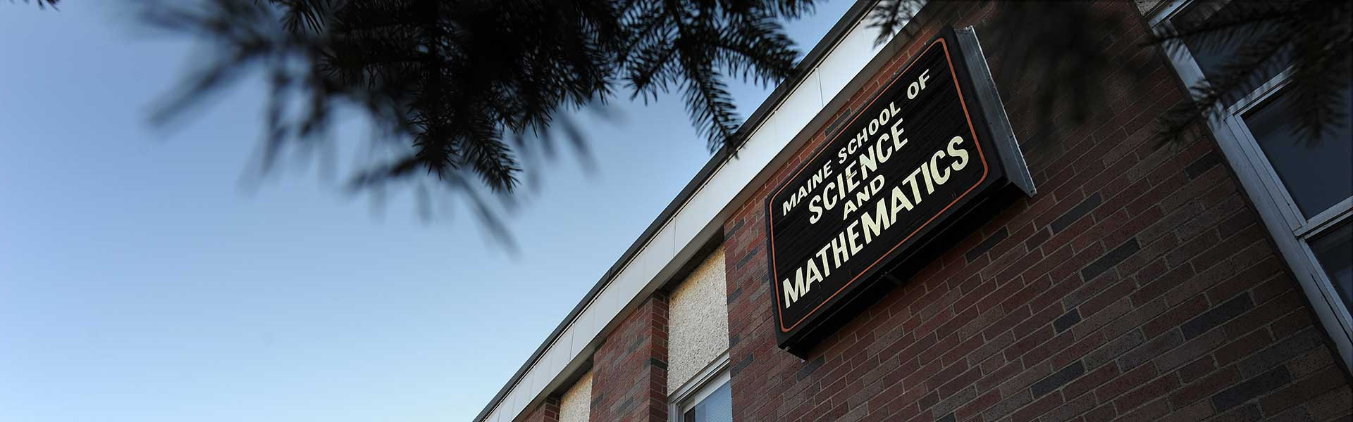 Maine School of Science and Mathematics in Maine USA