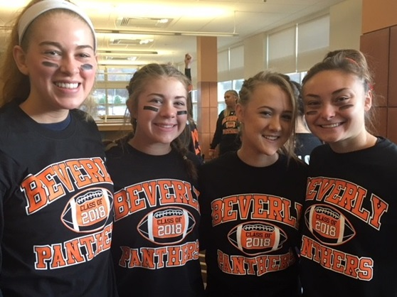 Beverly High School Massachusetts USA Students Girls