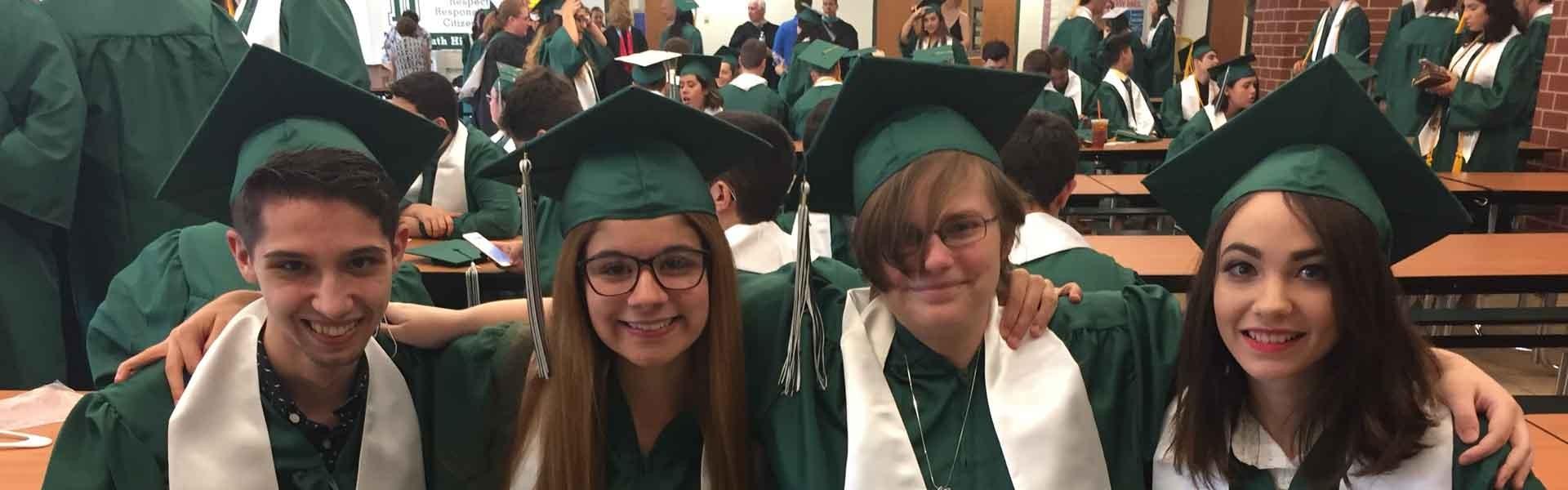Dartmouth High School Massachusetts USA Graduation Banner 2019