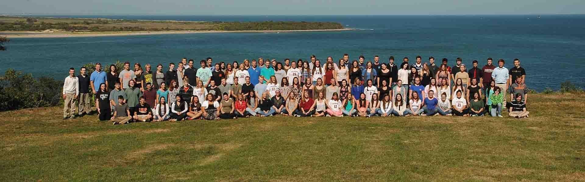 Ipswich High School MA USA Students Crane Estate Banner 2019