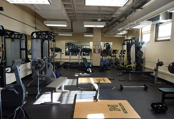 The Matignon School gym