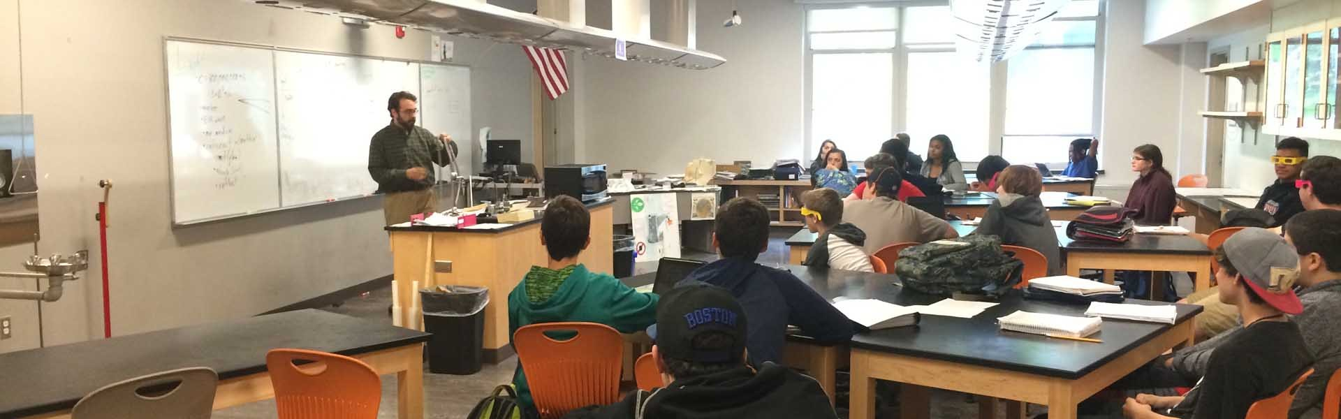 Maynard High School Massachusetts USA Classroom Banner 2019