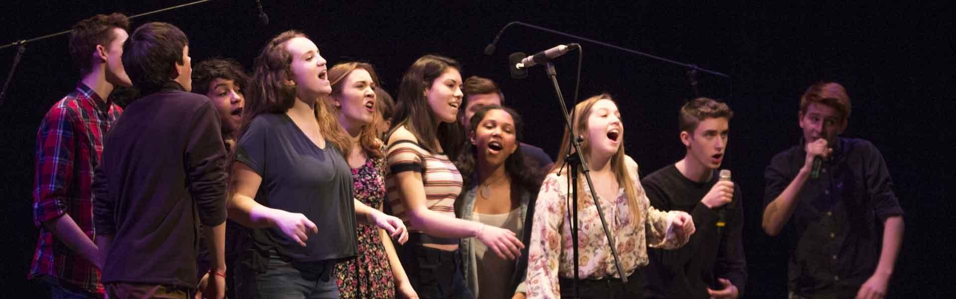Northampton High School Massachusetts USA Theater Banner 2019
