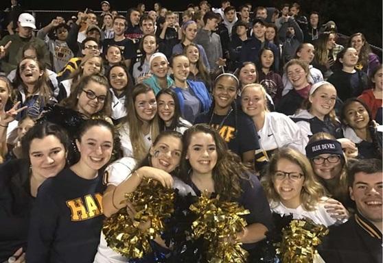 Northampton High School Massachusetts USA Pep Rally Gallery 2019