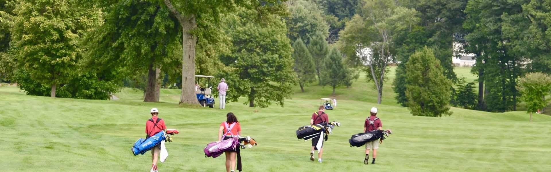 Pope Francis Massachusetts USA Golf Banner 2019