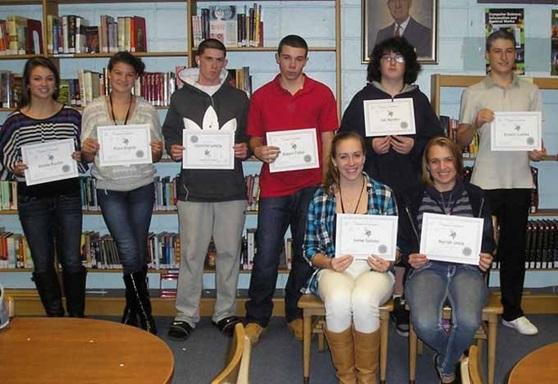 Winthrop High School Student Awards in Massachusetts USA