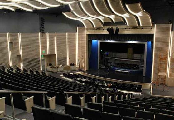 Winthrop High School Auditorium in Massachusetts USA
